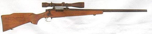 Винтовка M40 с деревянной ложей