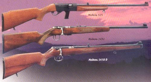 мелкокалиберные винтовки.