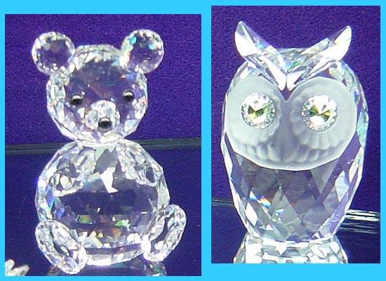 Фото 1. Фигуры медведя и совы